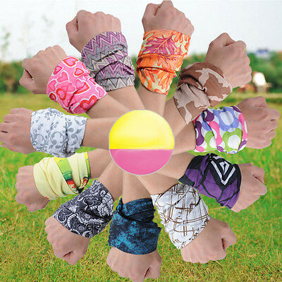 Bandana Tube Scarf Head Face Mask Neck Gaiter Headwear Snood Beanie Multi Color