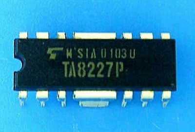 Toshiba Ta8227P Hdip-14 Low Frequency Power Amplifier