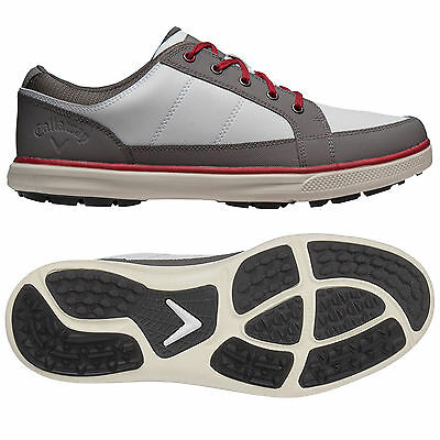 Callaway Mens Del Mar Sport Spikeless Golf Shoes New Lightweight Waterproof 2016