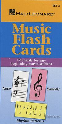 Music Flash Cards Set A Beginner Hal Leonard Student Piano Library