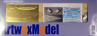 Artwox 1/200 HMS Nelson 1944 Wooden Deck Set for Trumpeter kit #03708
