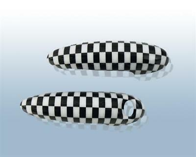 Türgriff Cover Chequered für BMW Mini R50 R52 R53 R55 R56 R57 R58 R59
