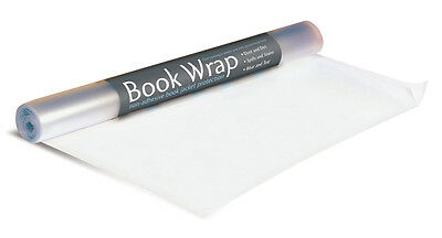 Book Wrap Roll Covers 75-100 Books Great for Book Collectors, Librarys & Readers