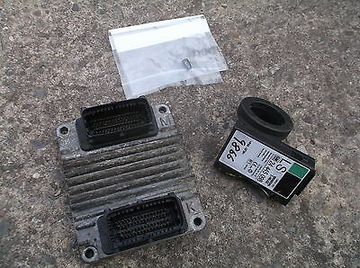 VAUXHALL ASTRA G MK4 1.6 8V ENGINE ECU KIT - Z16SE engine CONTROLLER car & van