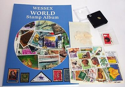 Wessex Worldwide Children's Stamp Collecting Starter Kit