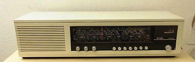 Saba Mainau F (MN-F) 4 Band L/M/K/U Radio in Weiß Bj: 1969-1972 VINTAGE RAR