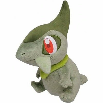 "New Sanei Pokemon Go All Star Collection PP49 Axew 5.5"" Stuffed Plush Doll"