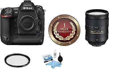 Nikon D5 DSLR Digital Camera (Body Only, Dual XQD Slots) W/ 28-300mm Lens Kit!