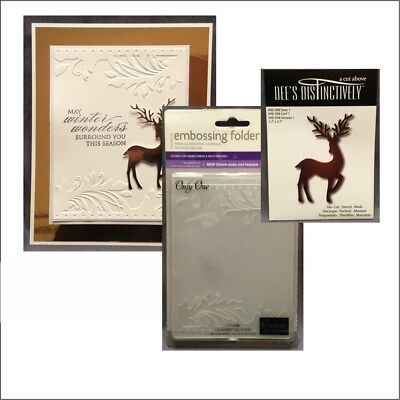 Couture Creations Christmas Eve DASHER Cutting Embossing Die CO724431 *
