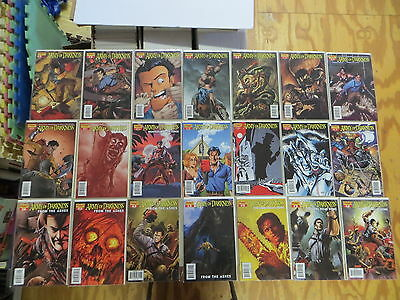 Army Of Darkness 33 Issue Comic Run 5-21 From The Ashes Dynamite Ash