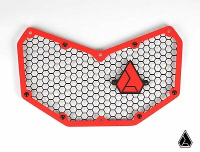 Assault Industries Hellfire Aluminum Front Grill Red Can Am Maverick X3 2017
