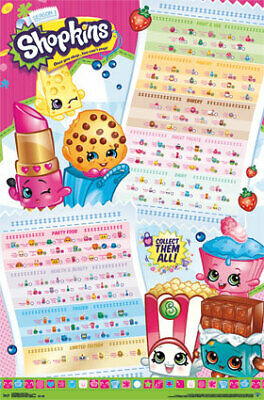 "Poster - Shopkins - Season 1 Grid New Wall Art 22""x34"" rp14138"