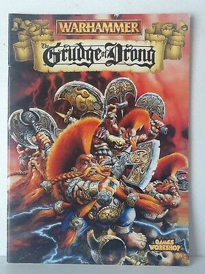 Warhammer Grudge Of Drong Campaign Supplement Book 1996