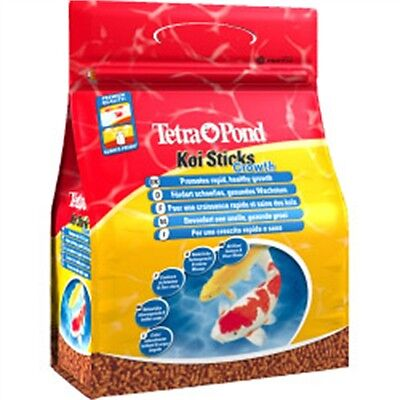 1200g Tetra Pond Koi Growth Fish Food - Colour & Sticks 4l () Cold Water Feeding