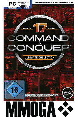 Command & Conquer - The Ultimate Collection Key - EA Origin Code PC Spiel NEU EU