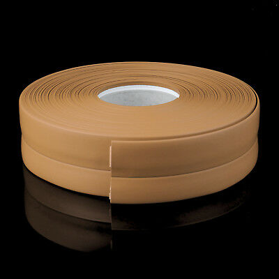 JAUNE MIEL PLINTHE SOUPLE 32mm x 23mm PVC sol mur jointure strip flexible
