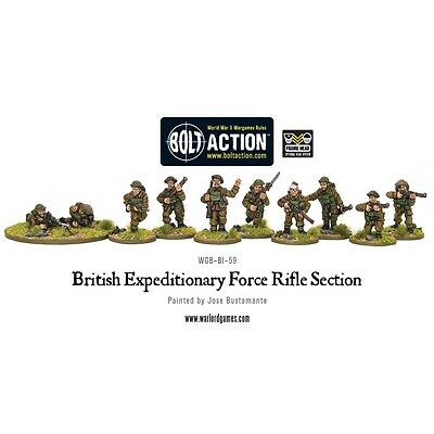 Early War British Section Miniatures - Warlord Games Bolt Action World 2
