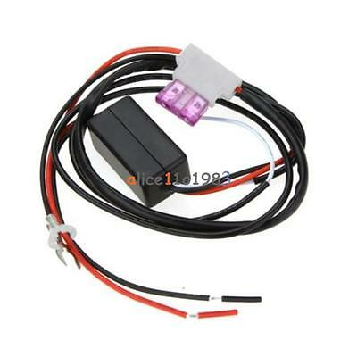 Auto CAR LED DAYTIME RUNNING LIGHT RELAY HARNESS DRL CONTROL DIMMER ON/OFF 12V U
