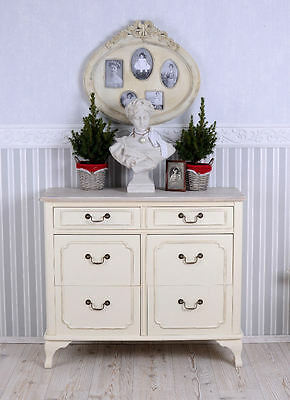 Dresser White Chest Of Drawers Shabby Chic Drawer Cabinet Antique Style