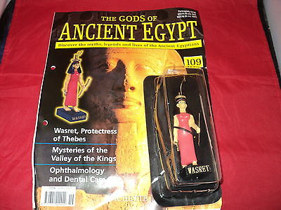 Hachette The Gods of Ancient Egypt - Issue 109 - Wasret - Protectress of Thebes