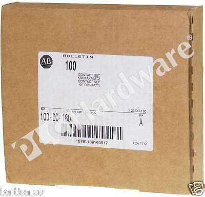 New Sealed Allen Bradley 100-DC-180 /A Main Contacts for 100-D180 Contactors Qty