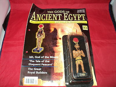Hachette The Gods of Ancient Egypt - Issue 93 - Iah - God of the Moon