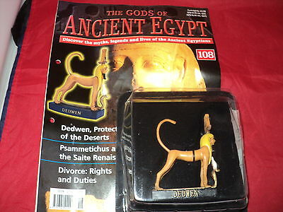 Hachette The Gods of Ancient Egypt - Issue 108 - Dedwen Protector of the Deserts