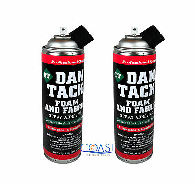 2X Multi Purpose Professional Foam Fast Spray Adhesive For Foam Fabric