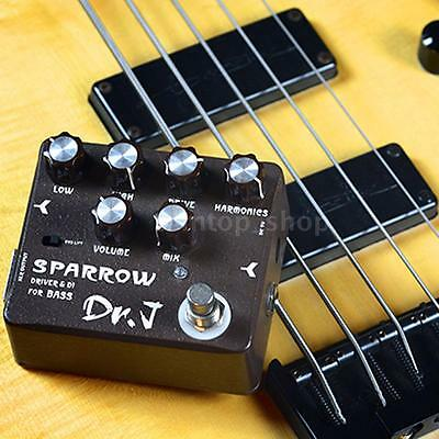 Joyo Dr.J D-53 Sparrow Overdrive DI Bass Electric Effect Pedal for Bass V1P7