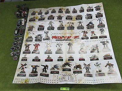 Wizkids MechWarrior Miniatures and Map