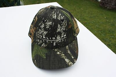 Ball Cap Hat - Talisman Energy - Hunting Camo Camouflage Oil Gas (H1597)