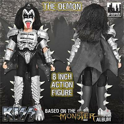 KISS Monster 8 Inch Action Figure Gene Simmons Demon