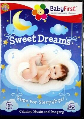BabyFirst Sweet Dreams Time For Sleepybye! Sights and Sounds NEW DVD