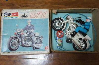 Motorcycle police handle remote control electric vintage toy figures[610]
