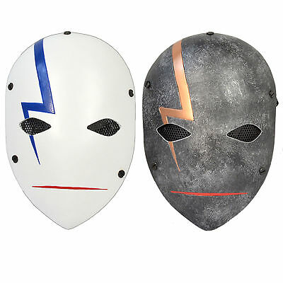Wire Mesh Protection Darker Than Black Hei Angry Mask Airsoft CS 2 Colors