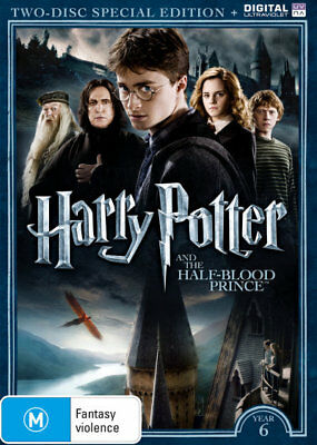 Harry Potter Year 6 (Special Edition) DVD R4 Brand New!