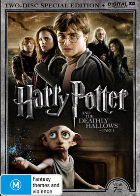 Harry Potter Year 7 Part 1 (Special Edtion) DVD R4 Brand New!