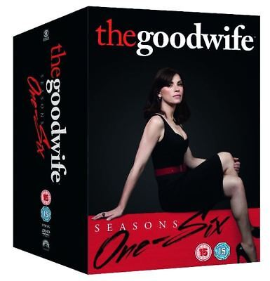 The Good Wife Seasons 1 - 6 Series 1 2 3 4 5 6  R4 DVD New Complete Collection