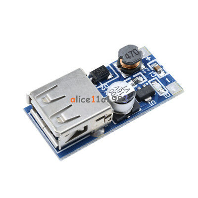 5PCS PFM Control DC-DC USB 0.9V-5V to 5V dc Boost Step-up Power Supply Module UK