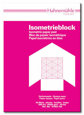 HAHNEMÜHLE  Isometrie - Block A3