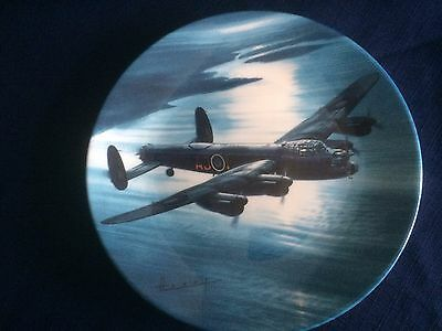 """Royal Worcester The Dambusters """" Mission Accomplished """" plate"""