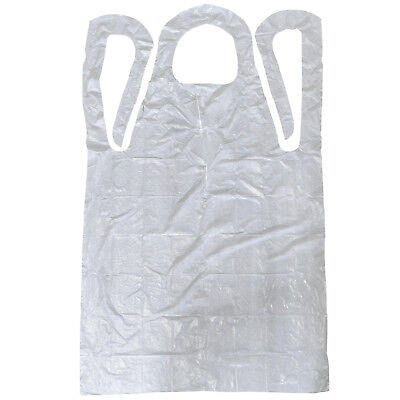 "Disposable Aprons Polyethylene 28"" x 46"" 100 per box"