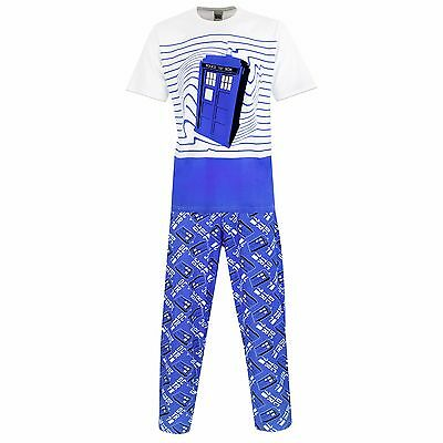 Doctor Who Pyjamas | Mens Dr Who PJs | Dr Who Tardis Pyjama Set | NEW