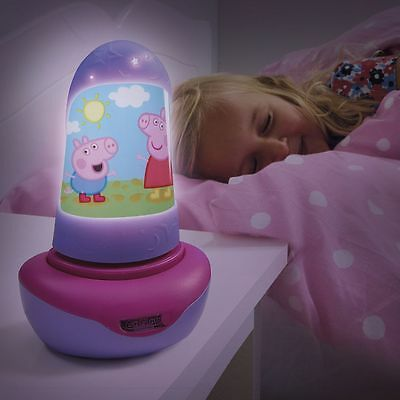 Peppa Pig Go Glow 2 In 1 Night Light & Torch Kids Bedroom New 100% Official