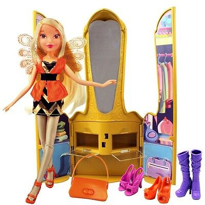 Winx Club - Magic Throne with Doll Stella & Accessories
