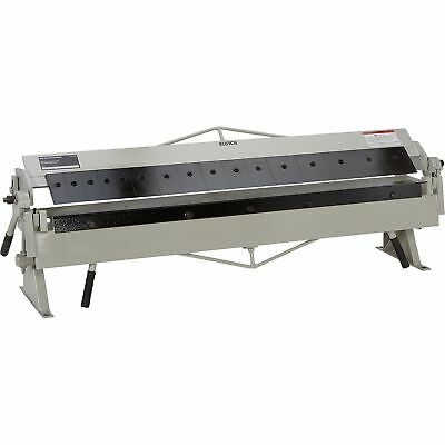 Klutch Box and Pan Brake - 48 1/4in.W Capacity