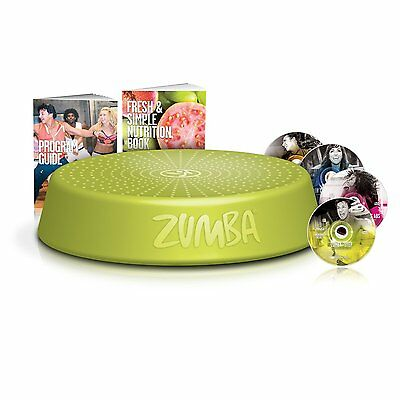 Zumba Fitness DVD System Workout Videos & Riser Incredible Core