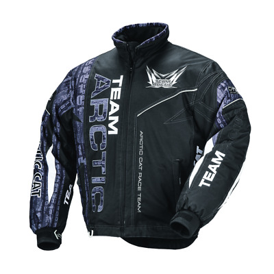 New Mens Snowmobile Team Arctic Cat Insulated Jacket, Coat