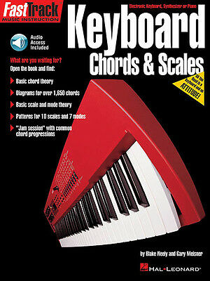 FastTrack Keyboard Method Chords Scales Piano Beginner Lesson Book Online Audio