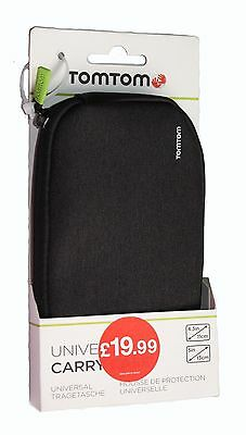 100%GENUINE TomTom UNIVERSAL CARRY CASE for 4.3 - 5 inch GPS Sat Nav Devices-NEW
